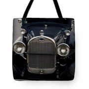 Beautiful Classic Car Front View Tote Bag