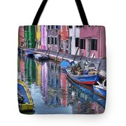 Beautiful Colors Of Burano Tote Bag