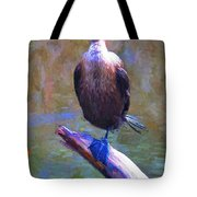 Beautiful Cormorant Tote Bag