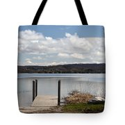 Beautiful Day At The Lake Tote Bag