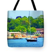 Beautiful Day For Sailing Tote Bag