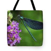 Beautiful Demoiselle Male Switzerland Tote Bag