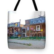 Beautiful Downtown Chicken-alaska Tote Bag