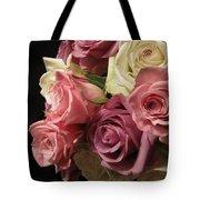 Beautiful Dramatic Roses Tote Bag