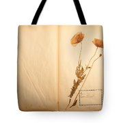 Beautiful Dried Vintage Flowers Tote Bag