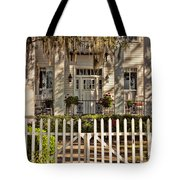 Beautiful Entryway On The Isle Of Hope Tote Bag