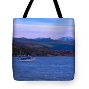 Beautiful Evening At Ullapool Tote Bag