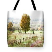 Beautiful Fall Landscape - Looks Like A Painting Tote Bag