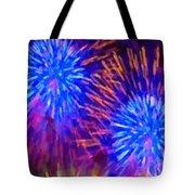 Beautiful Fireworks 10 Tote Bag