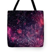Beautiful Fireworks 12 Tote Bag
