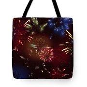 Beautiful Fireworks 9 Tote Bag
