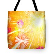 Beautiful Fireworks Tote Bag