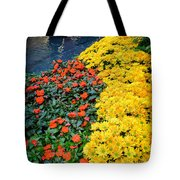 Beautiful Flower Garden Bellagio Las Vegas Tote Bag