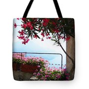 Beautiful Flowers Of Ravello Italy Tote Bag