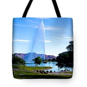 Beautiful Fountain Tote Bag