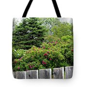 Beautiful Front Yard - Roses - Trees Tote Bag