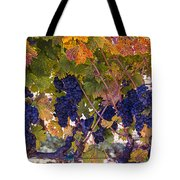 Beautiful Grape Harvest Tote Bag