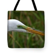 Beautiful Great Egret Tote Bag
