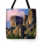 Beautiful Greece Landscape Tote Bag