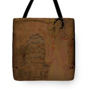 Beautiful Imperial Consort Yang Yuhuan Tote Bag