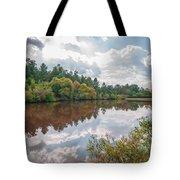 Beautiful Lake Reflections Tote Bag