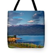 Beautiful Lake View Tote Bag