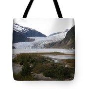 Beautiful Mendenhall Glacier Tote Bag