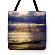 Beautiful Moment Tote Bag