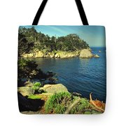 Beautiful Monterey Bay From Point Lobos Tote Bag
