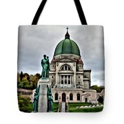 Beautiful Montreal Church Tote Bag