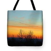Beautiful Mountain Sunset Tote Bag