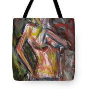 Beautiful Nude Young Woman Tote Bag