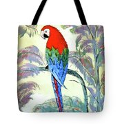 Beautiful Parrot For Someone Special Tote Bag