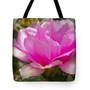 Beautiful Pink Cactus Flower Tote Bag