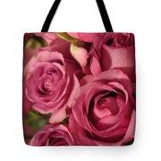 Beautiful Pink Roses 6 Tote Bag