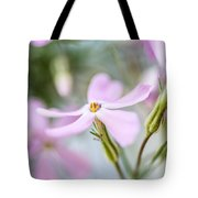 Beautiful Pink Spring Flowers Tote Bag