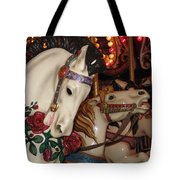 Beautiful Ponies Rwp Carousel Tote Bag