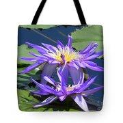Beautiful Purple Lilies Tote Bag