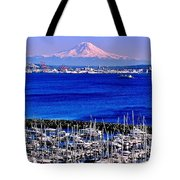 Beautiful Rainier Tote Bag