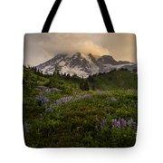 Beautiful Rainier Wildflower Meadows Tote Bag