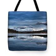 Beautiful Rainy Lake Tote Bag
