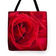 Beautiful Red Rose Close Up Shoot Tote Bag