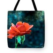 Beautiful Red Rose Tote Bag