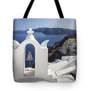 Beautiful Santorini Tote Bag