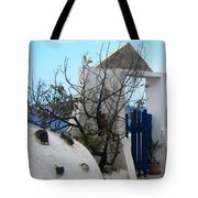 Beautiful Santorini Tote Bag