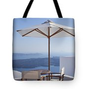 Beautiful Santorini View Tote Bag