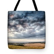 Beautiful Skies Over Farmland Tote Bag