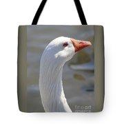 Beautiful White Goose Tote Bag