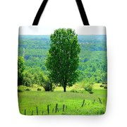 Beautiful Pennsylvania Summer Scene - Colorful Landscape - Painting Like Tote Bag