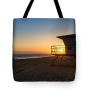 Beautiful Sunset In Point Mugu State Park In Malibu. Tote Bag